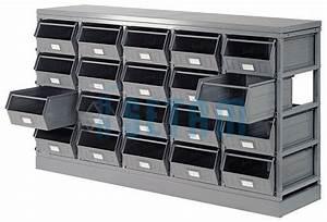 Bac A Bec Metal : casier rangement tiroirs comparer et acheter ~ Edinachiropracticcenter.com Idées de Décoration