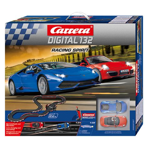 Carrera Digital 132  Racing Spirit (maßstab 124) Bei