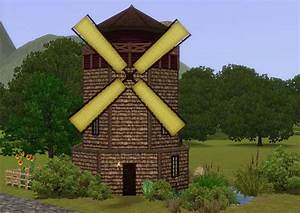 My Sims 3 Blog: Medieval Windmill Home - Ye Olde Kingdom ...