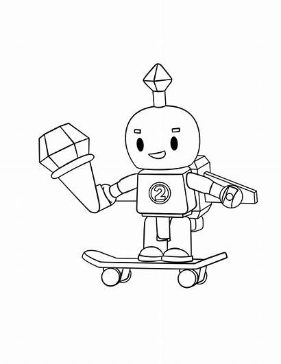 Coloring Roblox Rocks Skater Cat Soldier Pirate