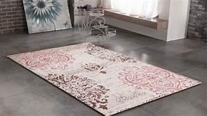 Tapis De Salon Pas Cher : tapis gris noir design contemporain firenze 4 ~ Teatrodelosmanantiales.com Idées de Décoration