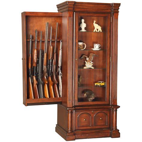 Wooden Gun Cabinets by American Furniture Classics 888 Wood 8 Gun Cabinet Curio