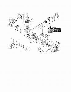 358 791540 Craftsman 17 Inch Cutting Path Gasoline Weedwacker