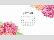 Monthly Desktop Calendar 2019 Wallpapers