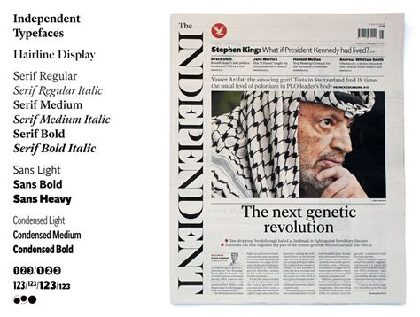 the independent newspaper fonts a2 sw hk 2014 d ad awards pencil winner typefaces d ad
