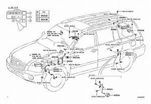 Toyota Highlander Sensor  Skid Control  Electrical