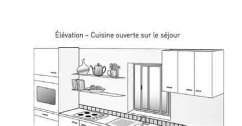 plan de maison avec cuisine ouverte plan cuisine ouverte chaios com