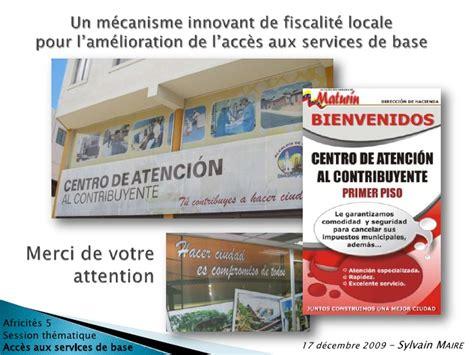 Neosquat Le Service Innovant Pour Un Mécanisme Innovant De Fiscalité Locale Pour L