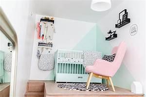 Chambre chambre bebe noir et rose 1000 idees sur la for Canapé convertible scandinave pour noël decoration chambre bebe fille originale