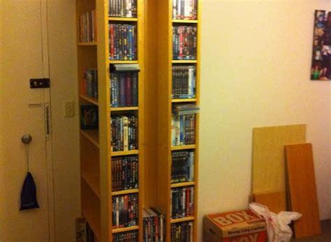 Billy Bookcase 60cm by Billy Benno Bookcase Dvd Block Ikea Hackers Ikea Hackers