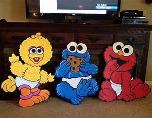 TheRetroInc on Etsy | Baby elmo, Baby cookies and Sesame ...