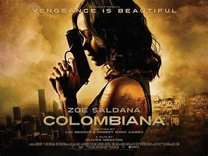Colombiana Movie Posters From Movie Poster Shop