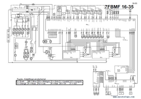 cat 50 fork lift wiring diagrams