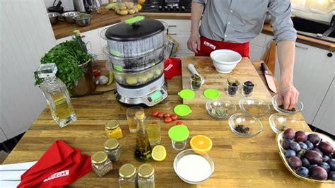 de cuisine qui cuit le cuit vapeur vitacuisine compact de chez seb electroguide