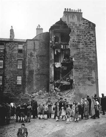 collapsed tenement   gorbals  historical
