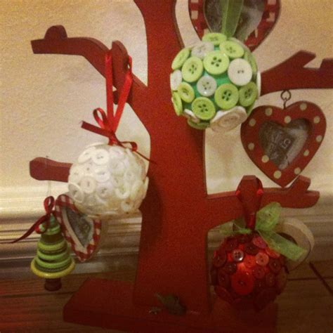 button christmas decorations sewing projects