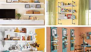 Diy shelving ideas for added storage for Kitchen cabinets lowes with do it yourself art projects for the walls