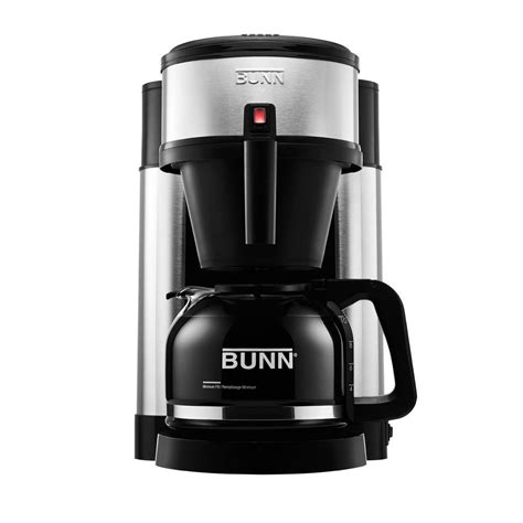 bunn nhs  cup home coffee brewer   home depot