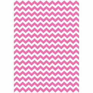 Papier Cadeau Blanc : papier cadeau zigzag rose et blanc ~ Teatrodelosmanantiales.com Idées de Décoration