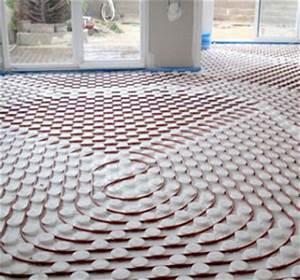 Pompe à Chaleur Plancher Chauffant Prix : prix d 39 un chauffage au sol avec un plancher chauffant ~ Premium-room.com Idées de Décoration