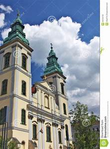 St. Anna Church In Pest, Budapest Stock Image - Image of ...