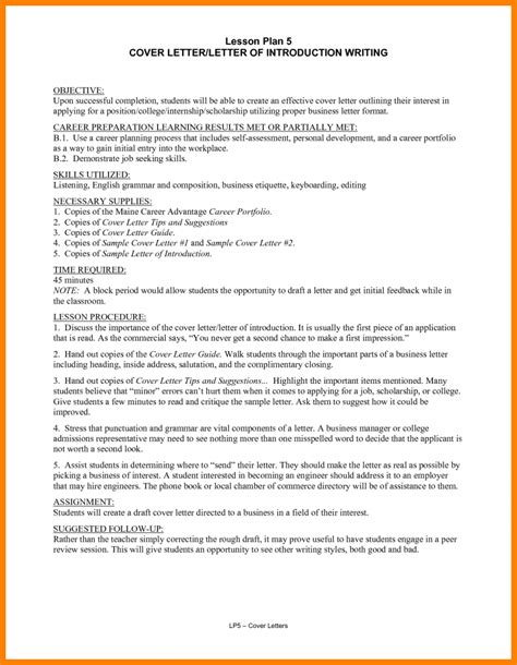 How To Write A Great Resume by 5 Resume Self Introduction Introduction Letter