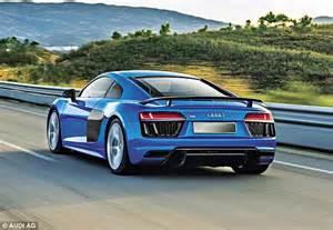 Chris Evans On Audi R8 V10 Plus