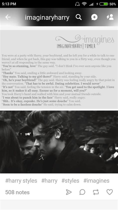 Harry Styles Imagines Protective