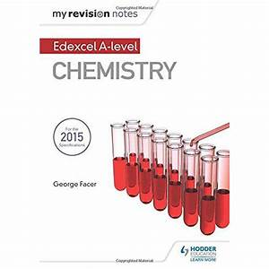 My Revision Notes  Edexcel A Level Chemistry