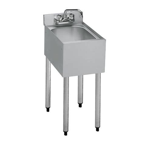 14 inch deep kitchen sink krowne 18 1c 12 quot 1 compartment sink w 10 quot w x 14 quot l bowl 7
