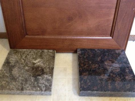 matching granite to cabinet color help