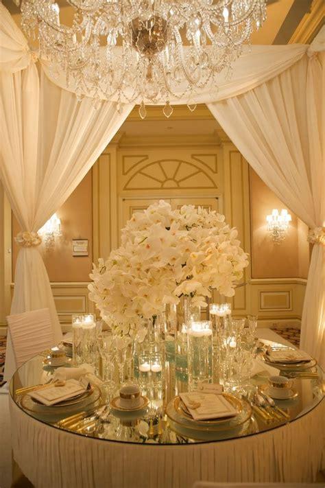 and gold reception decoration ivory gold wedding reception wedding style