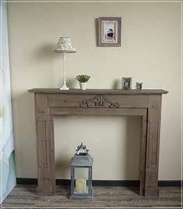 Kamin Attrappe Holz : kaminumrandung m bel einebinsenweisheit ~ Michelbontemps.com Haus und Dekorationen
