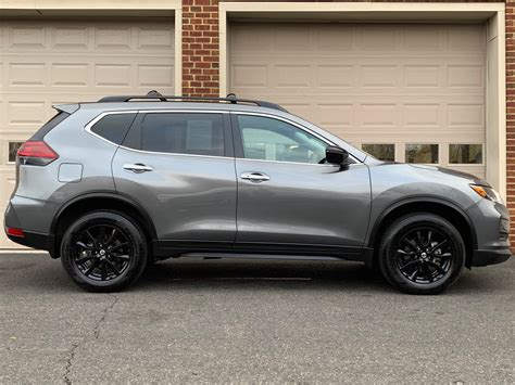 nissan rogue sv awd midnight edition stock