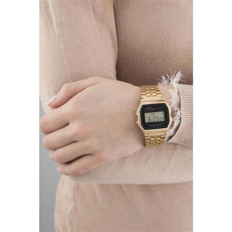 orologio digitale donna casio casio collection awgea