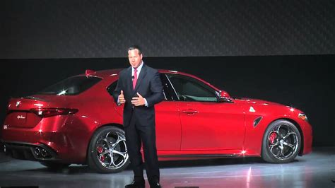 Alfa Romeo Dealer Los Angeles by Alfa Romeo Giulia Unveiling 2015 Los Angeles Auto Show