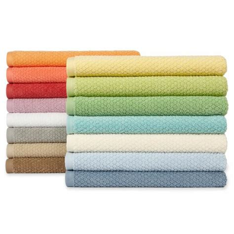 quick dry ripple bath towels jcpenney overseas