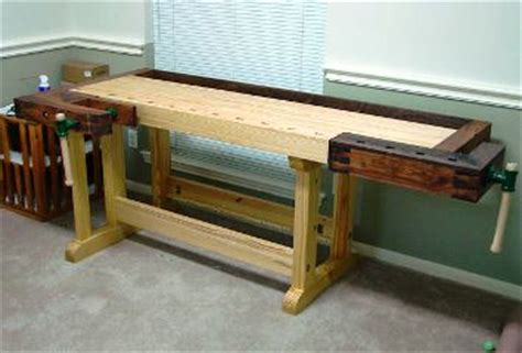 woodwork frank klausz workbench  plans