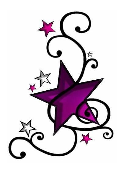 Tattoo Stars Swirls Tattoos Clipart Designs Swirl