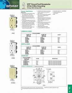 Gfr U00ae Ground Fault Receptacles 2