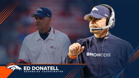 broncos  ed donatell  defensive coordinator