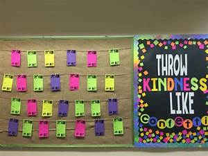 Appreciation Chart For Students Middle School Bulletin Board Featuring Student Shout Outs