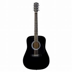 Fender Squier SA105 Acoustic Guitar, Black