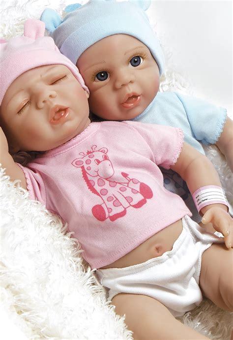 Real Life Boy Baby Doll, Anatomically Correct Tiny Twins