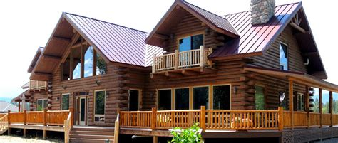 elk meadow log lodge meadowlark log homes