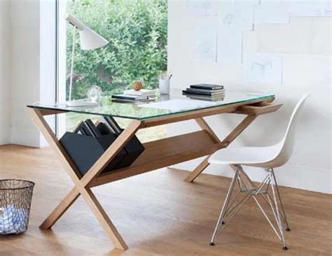 nice desks for home office glass desk cover for nice addition