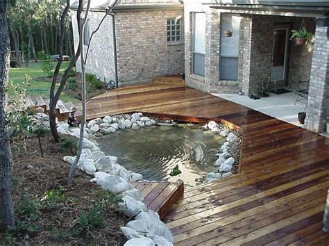 deck ponds garden water features 70 best images about deck pond on pinterest lowes pump and decks