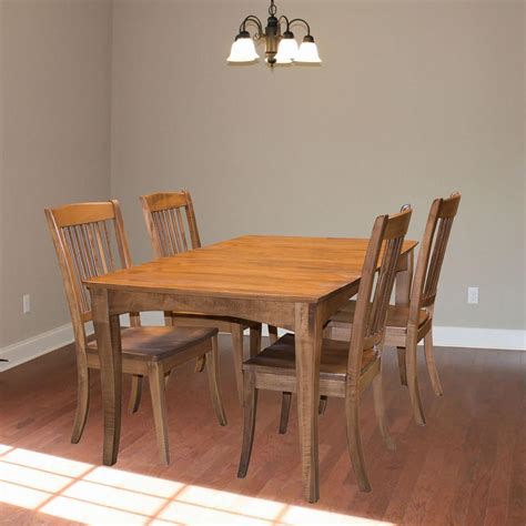 maple dining table set amerihome 60 in x 39 in maple hardwood dining set with