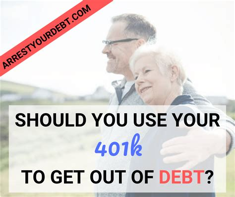 If you're not sure how to tackle your credit card debt, we've got some advice on steps you can take. Is It Smart To Use My 401k To Pay Off Debt? 2020 - Arrest Your Debt | Debt payoff, Take money ...
