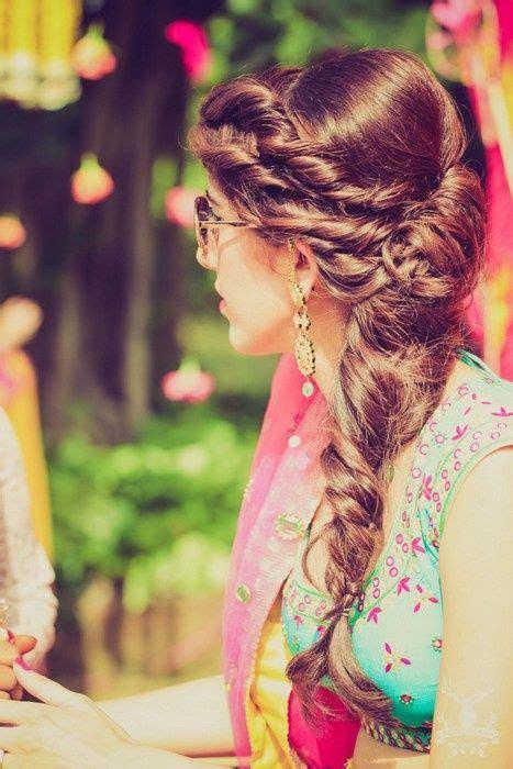 indian wedding hairstyles  brides  beststylocom